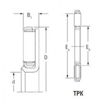 Подшипник TPK2241L KOYO