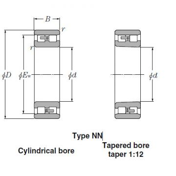 Bearings Cylindrical Roller Bearings NN3144