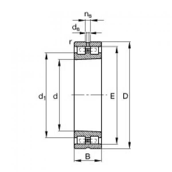 Подшипник NN3011-AS-K-M-SP FAG #1 image